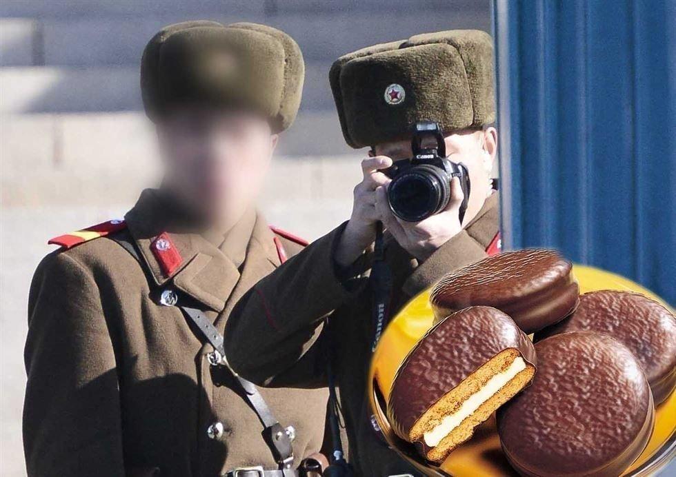"""Хойд Солонгосын оргодол цэрэгт амьдралынх нь турш хэрэглэх """"Choco Pie"""" амлажээ"""