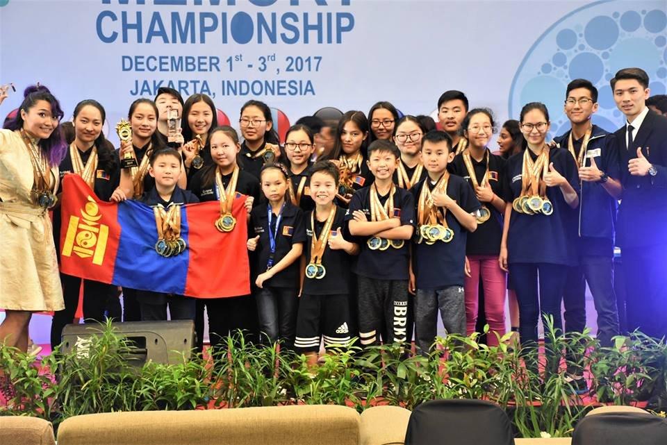 БАЯРТ МЭДЭЭ: 90 медалиас 57 медалийг нь хүртэн ой тогтоолтын дэлхийн аварга боллоо