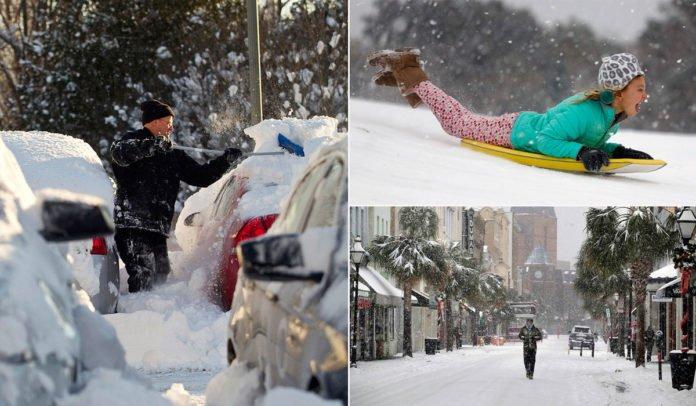 ФОТО: Флоридад 28 жилийн дараа АНХ УДАА  цас оржээ