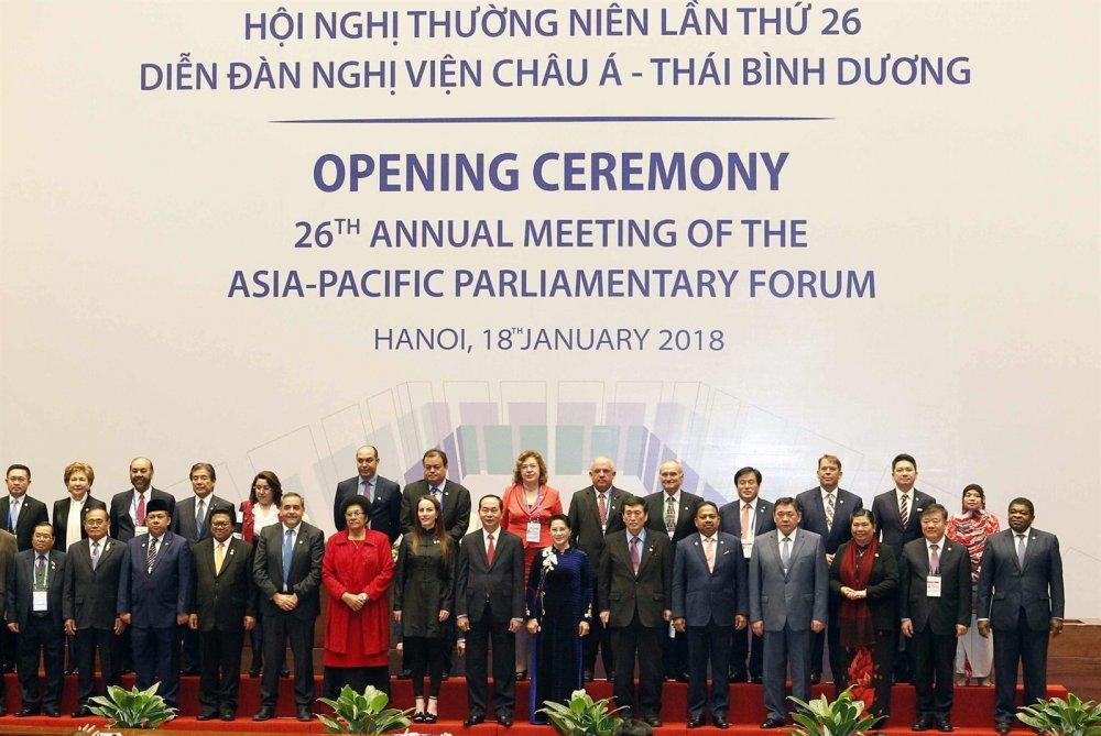 БАГЦ МЭДЭЭ: Монголын парламентын төлөөлөгчид Ази, Номхон далайн орнуудын парламентын чуулганы 26 дугаар уулзалтад оролцлоо