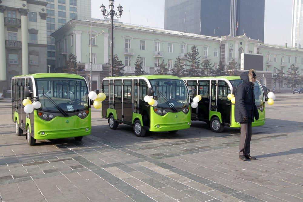 Монголд үйлдвэрлэсэн автобусыг хүлээлгэн өгөх ёслолын ажиллагаа боллоо