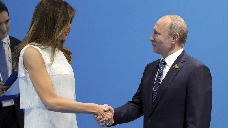 Путин: Хэдийгээр миний хийх дуртай ажил байсан ч би Меланиаг элсүүлэх гэж оролдоогүй