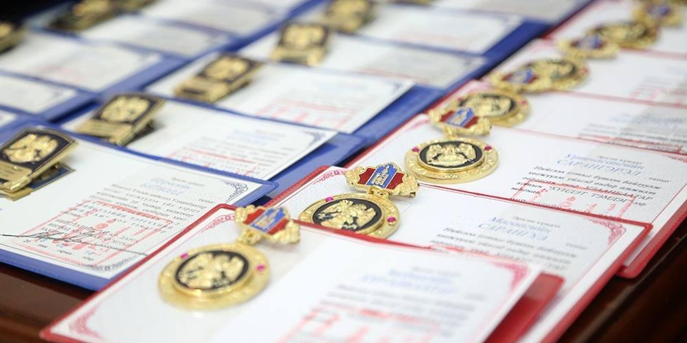 Нийслэлийн удирдлагууд Төрийн дээд одон медаль гардуулав