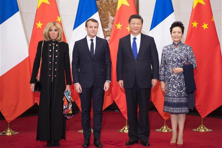 Хятад болон Францын төрийн ТЭРГҮҮНҮҮДИЙН дээд хэмжээний уулзалт эхэллээ