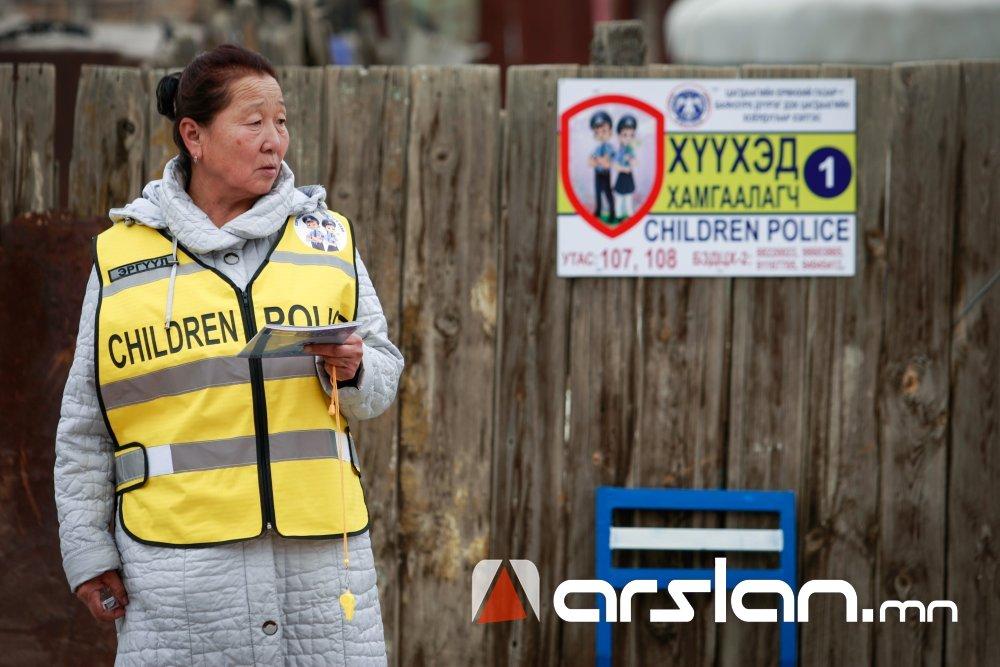 """""""ХҮҮХЭД ХАМГААЛАГЧ"""" иргэд бусдын хүүхдийн аюулгүй байдлын төлөө ажиллаж байна Arslan.mn"""