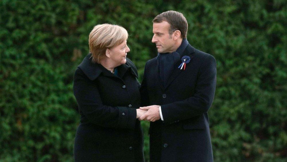 Европын нэгдсэн арми байгуулах Макроны санааг Меркель дэмжлээ