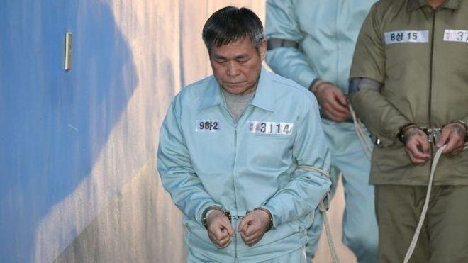 Шавь нараа хүчинддэг байсан Өмнөд Солонгосын шашны урсгалын тэргүүн 15 жилийн хорих ял сонслоо