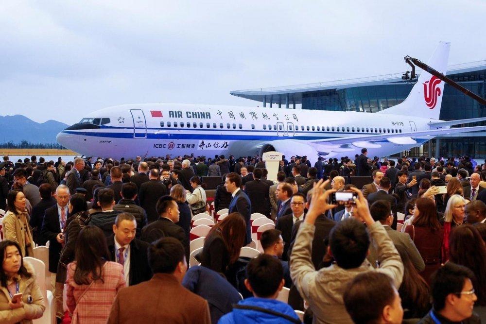 Боинг компани Хятадад анхныхаа нисэх онгоцыг үйлдвэрлэж гаргалаа