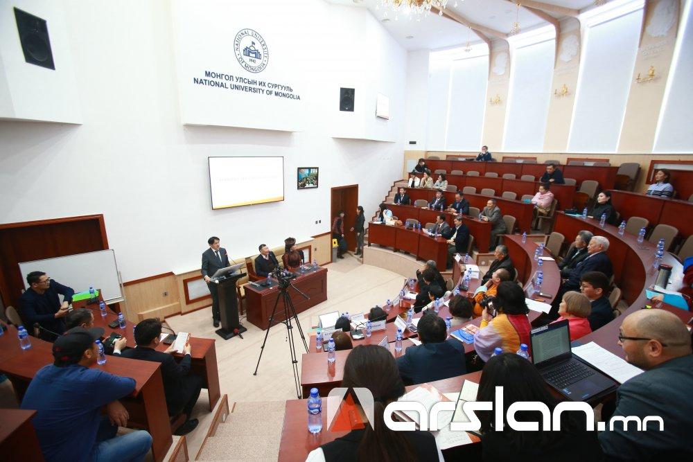 """ФОТО: """"Парламентын институтийн улс төр, эрх зүйн шинжилгээ"""" эрдэм шинжилгээний бага хурал боллоо"""