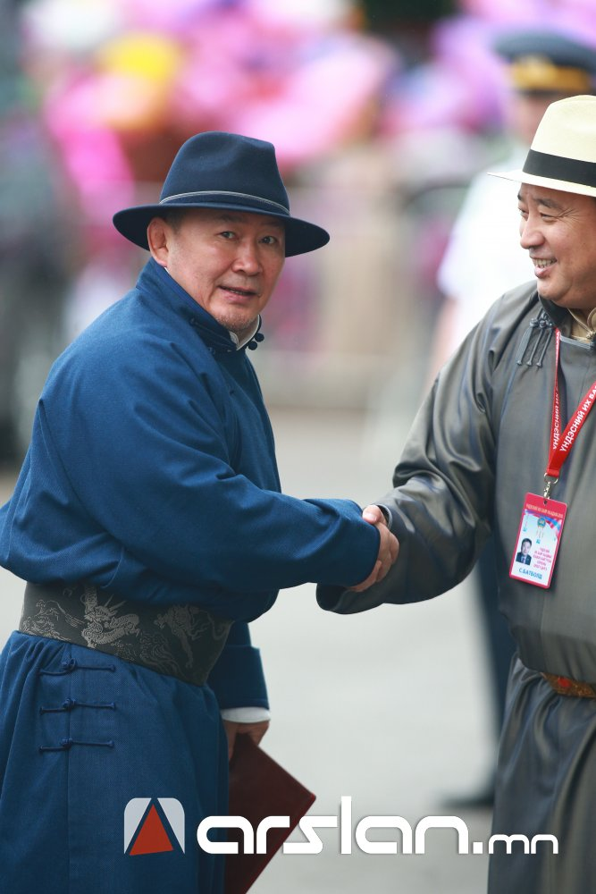 ФОТО: Төрийн түшээдийн наадмын гоёл