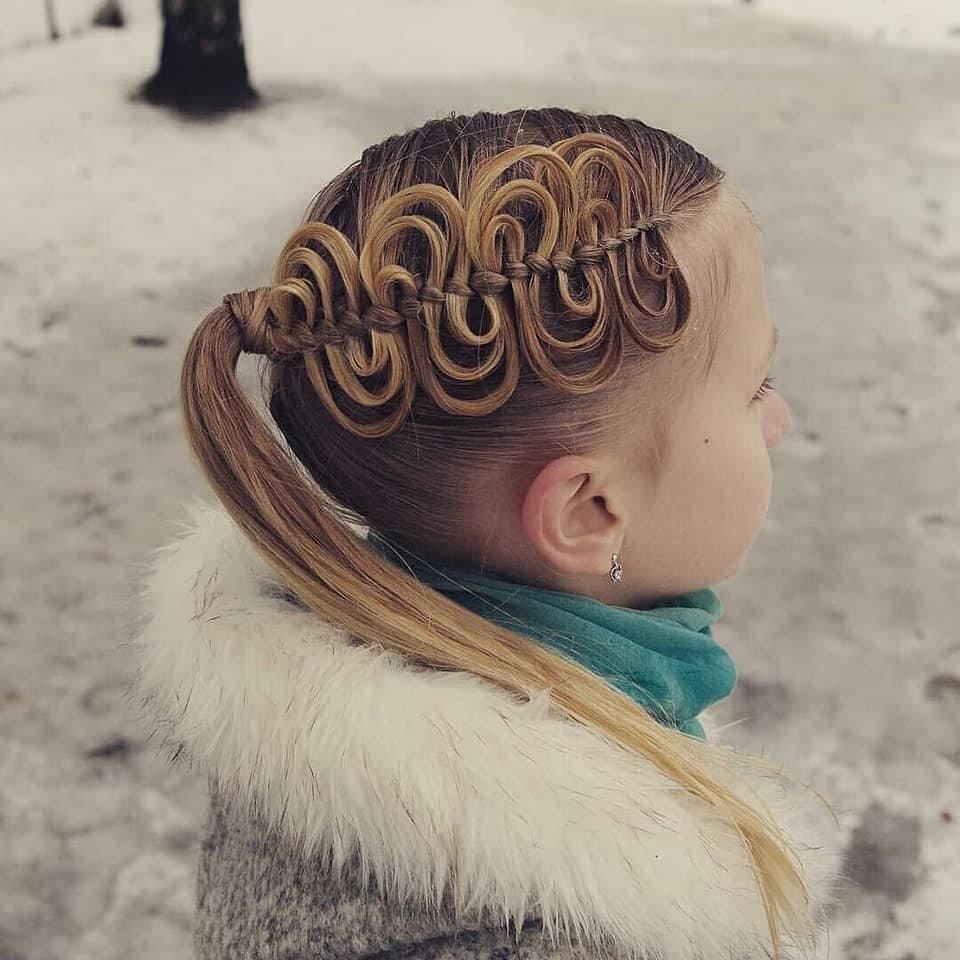 ФОТО: Бяцхан охидынхоо үсийг сүлжих санаанууд Arslan.mn