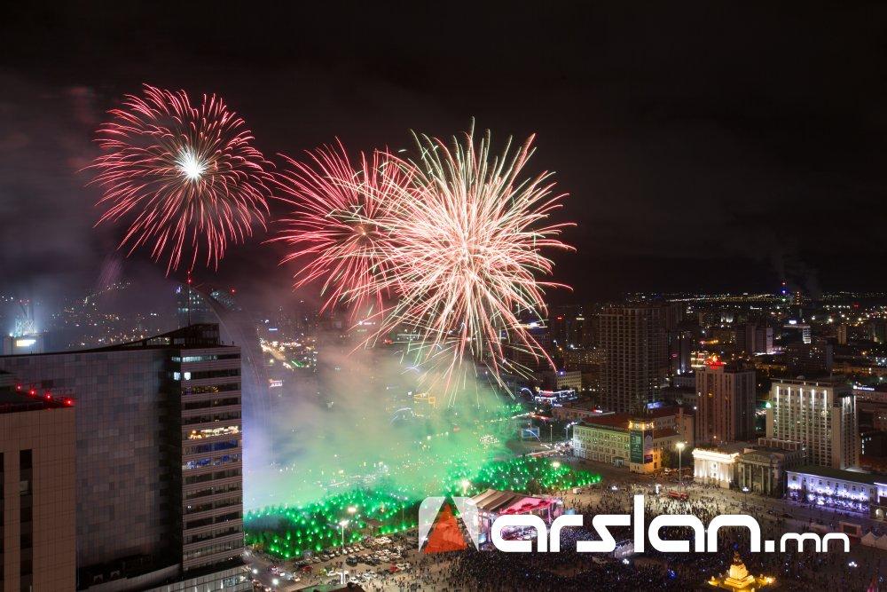 ФОТО: Үндэсний их баяр наадмын үдшийн цэнгүүн