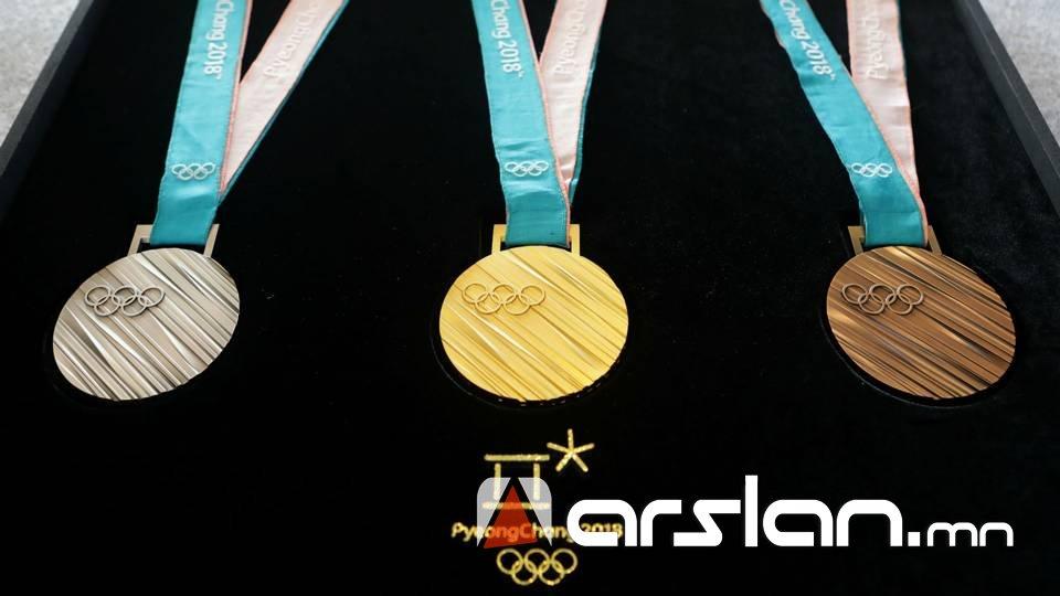 """""""ПЁНЧАН-2018: Олимпийн наадмаас улс орнуудын медаль хүртсэн байдал"""
