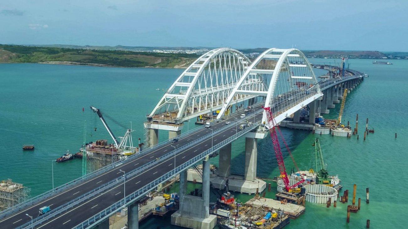 Европын хамгийн урт ачаа тээврийн гүүр Крымийн хойгт нээлтээ хийлээ