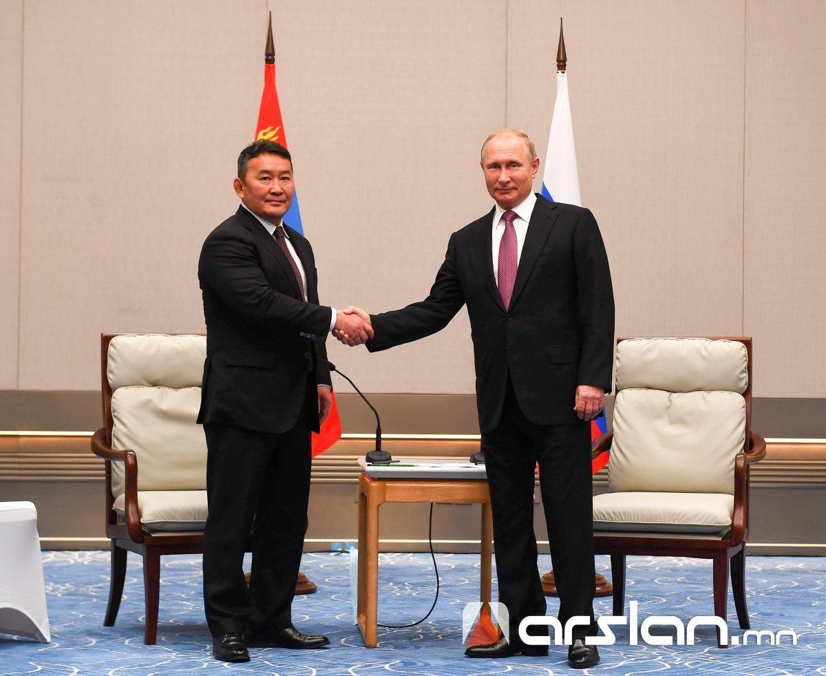 Ерөнхийлөгч Х.Баттулга ОХУ-ын Ерөнхийлөгч В.В.Путинтай уулзлаа