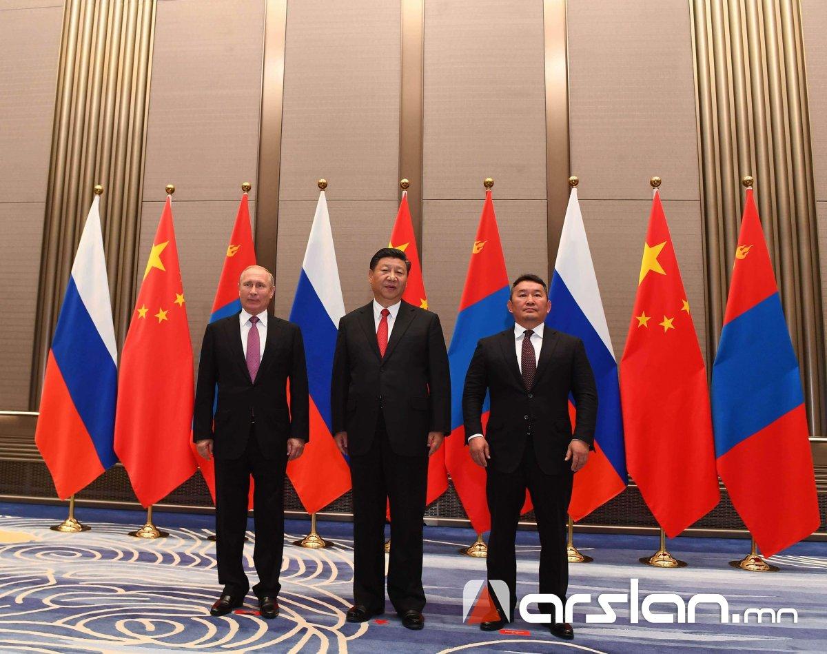 ШХАБ : Монгол Улс, ОХУ, БНХАУ-ын төрийн тэргүүн нарын 4 дэх удаагийн ДЭЭД ХЭМЖЭЭНИЙ УУЛЗАЛТ