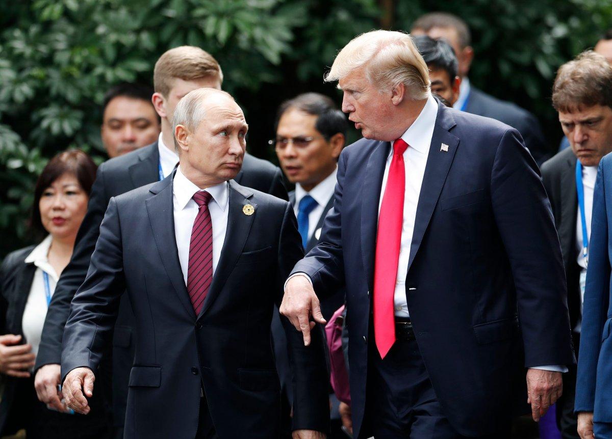 Дональд Трамп, Владимир Путин нар ирэх сарын 16-нд Финландад уулзана