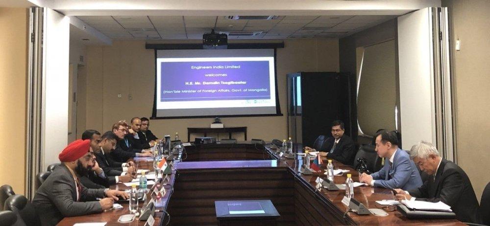 Монгол, Энэтхэгийн сайд нар нарны эрчим хүч, ухаалаг технологийг барилгын салбарт ашиглах туршилтын төсөл хэрэгжүүлэхээр тохиров