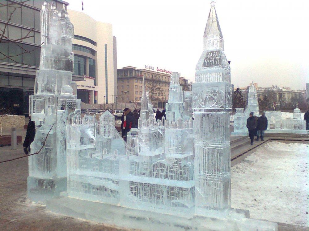 Монголын мөсөн барималчид урд хөршид болсон тэмцээнд түрүүллээ