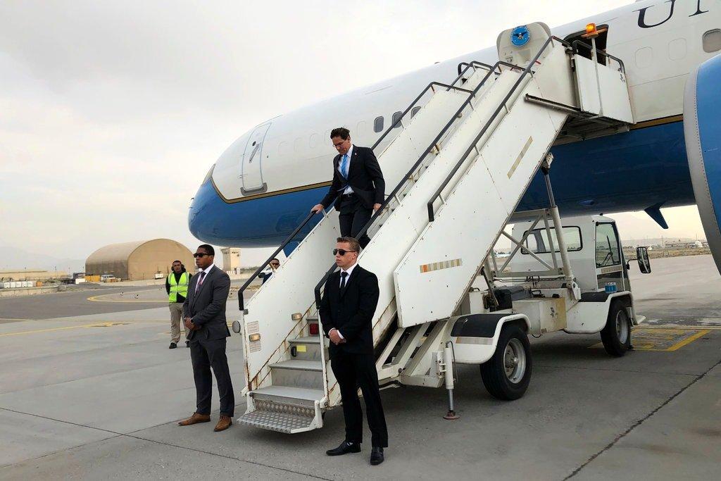 ФОТО: Пентагоны тэргүүний Иракт хийсэн гэнэтийн шалгалт
