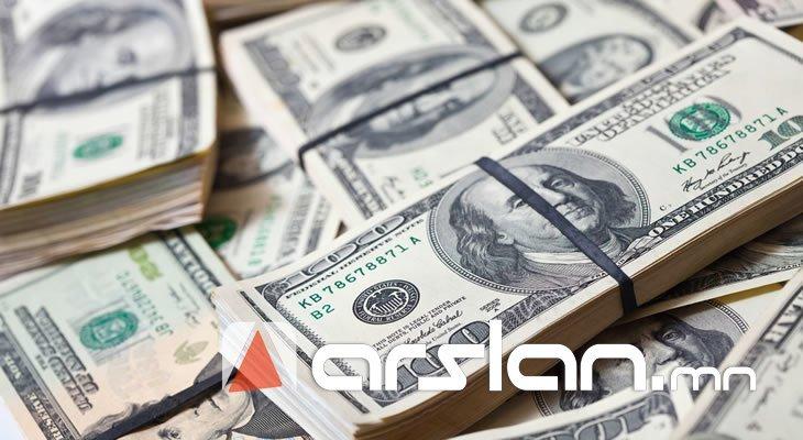 Долларын ХАНШ валют арилжааны төвүүд дээр ХӨӨСРӨЛТТЭЙ байна