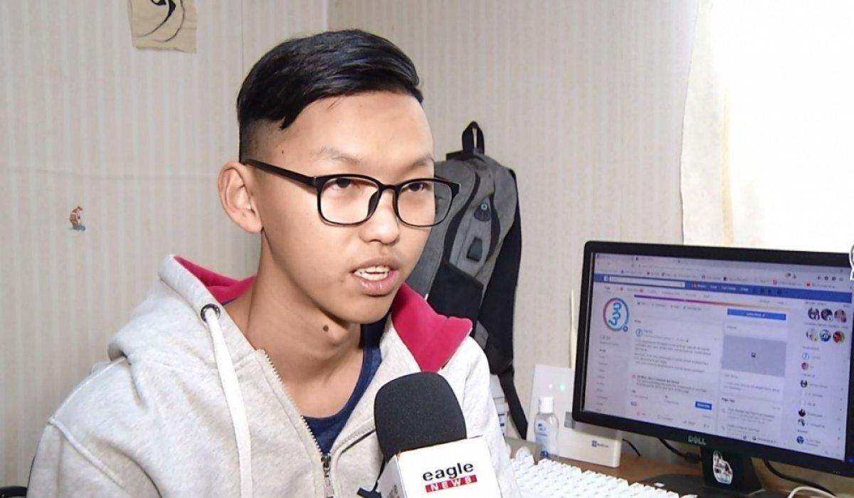 15 настай хүү монгол бичгийг хөрвүүлдэг аппликейшн зохион бүтээжээ