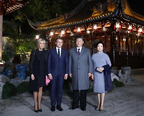 ФОТО: БНХАУ, Францын төрийн тэргүүн нар уулзжээ