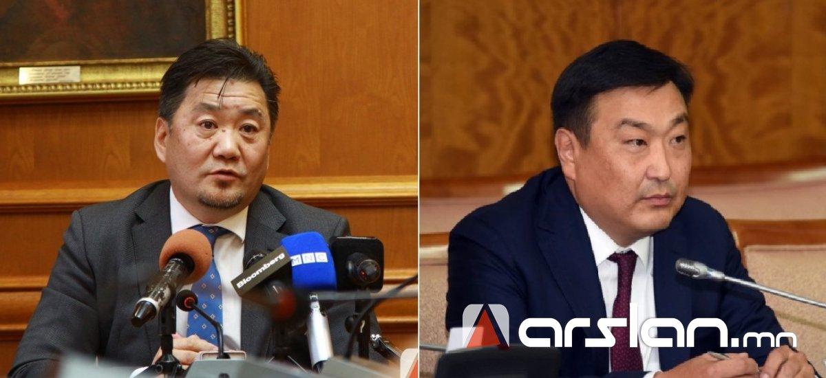 ЧУУЛГАН: Б.Лхагвасүрэн Монголбанкны Ерөнхийлөгчөөр, Д.Баярсайхан СЗХ-ны даргаар томилогдлоо