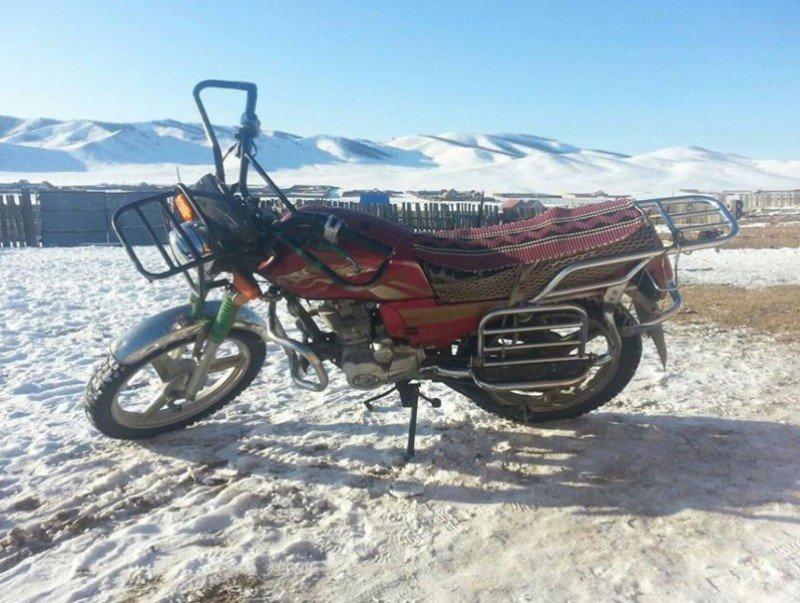 Өлгий суманд мотоциклын хөдөлгөөнийг түр хязгаарлав