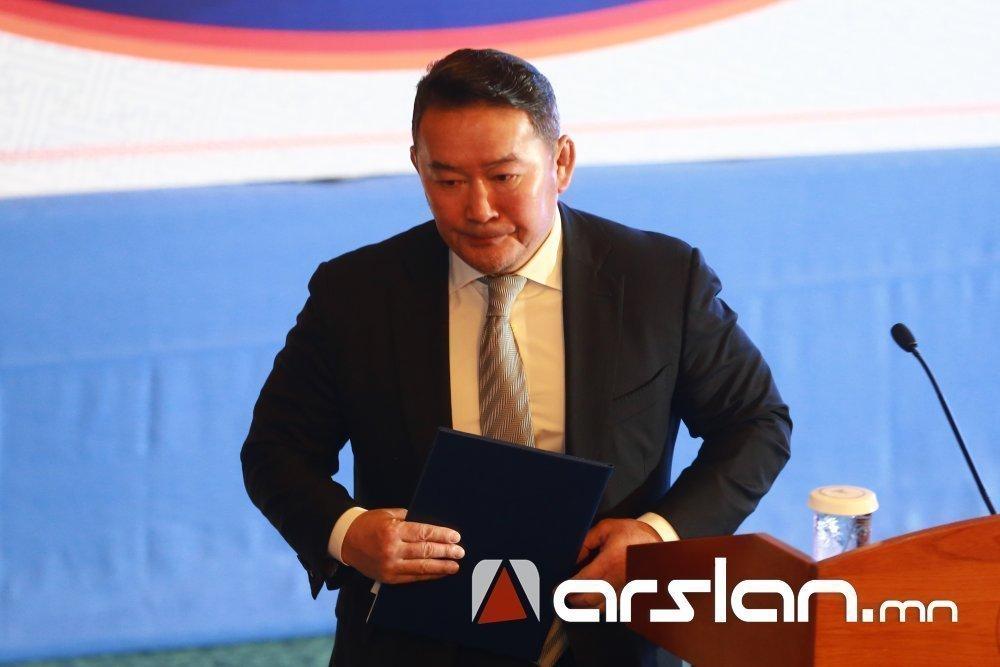Ерөнхийлөгч Монгол Улсын 2020 оны төсөвт хориг тавилаа