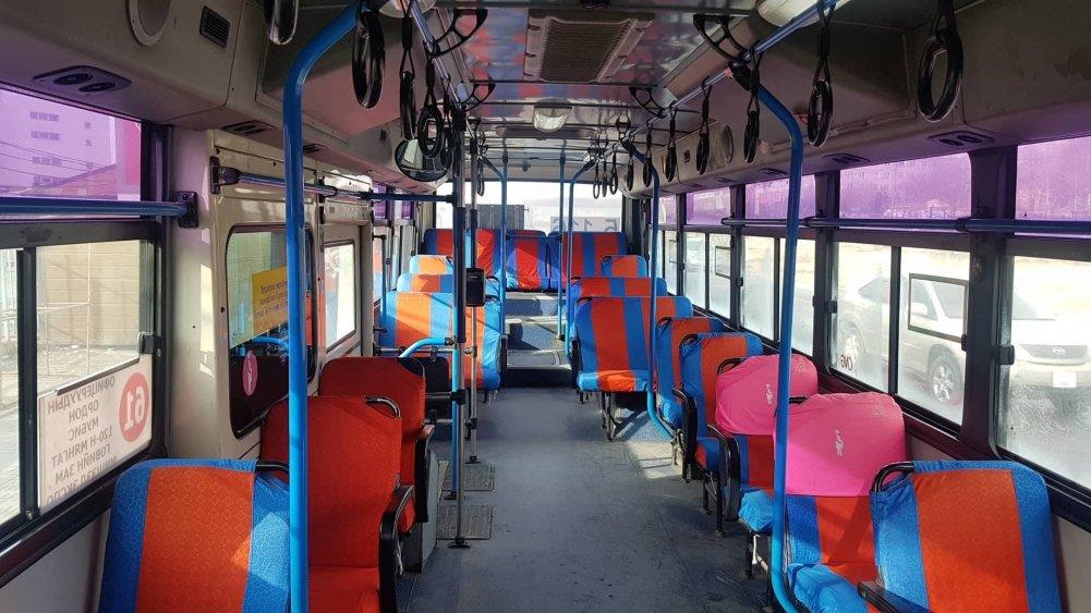 Өнгө үзэмж, цэвэрлэгээ муутай нийтийн тээврийн хэрэгсэлд шаардлага тавьж, зөрчлийг арилгуулжээ