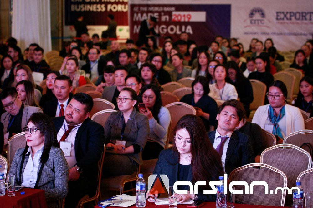 """ХӨГЖЛИЙН БАНК """"Export Mongolia 2019""""бизнес форумыг хамтран зохион байгууллаа"""