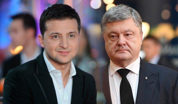 СОНГУУЛЬ: В.Зелинский, П.Порошенко нар тунаж үлдлээ