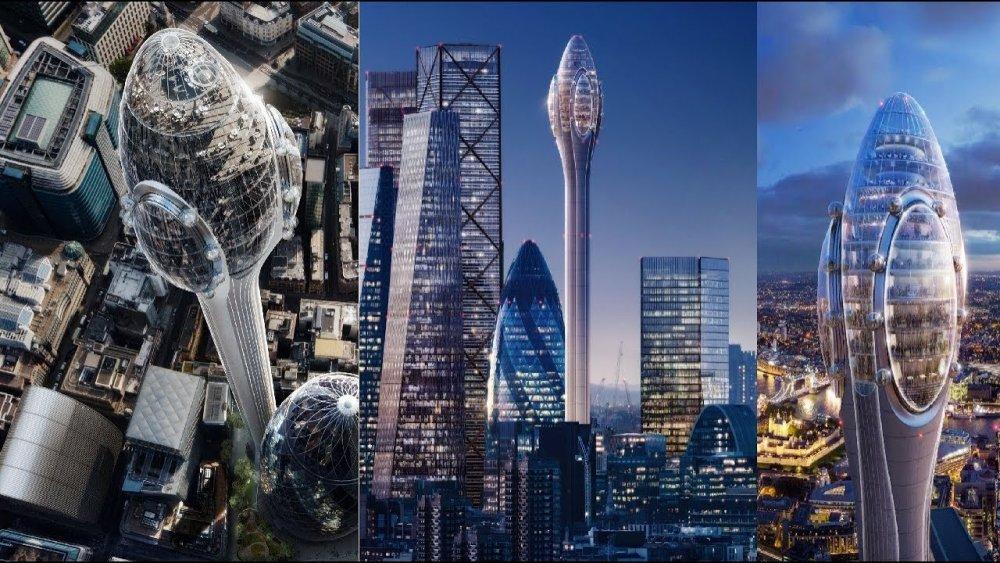 Лондонд 305 метр өндөр барилга сүндэрлэнэ