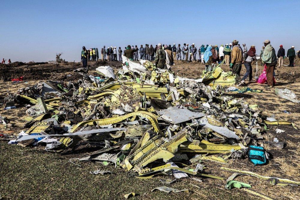 """ДҮГНЭЛТ: """"Ethiopian Airlines"""" компанийн  онгоц  ямар нэг гаднын биеттэй мөргөлдөөгүй гэв"""