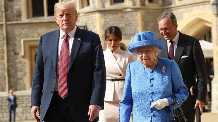 Хатан хаан II Елизавета АНУ-ын Ерөнхийлөгчийг эх орондоо айлчлахаар урина
