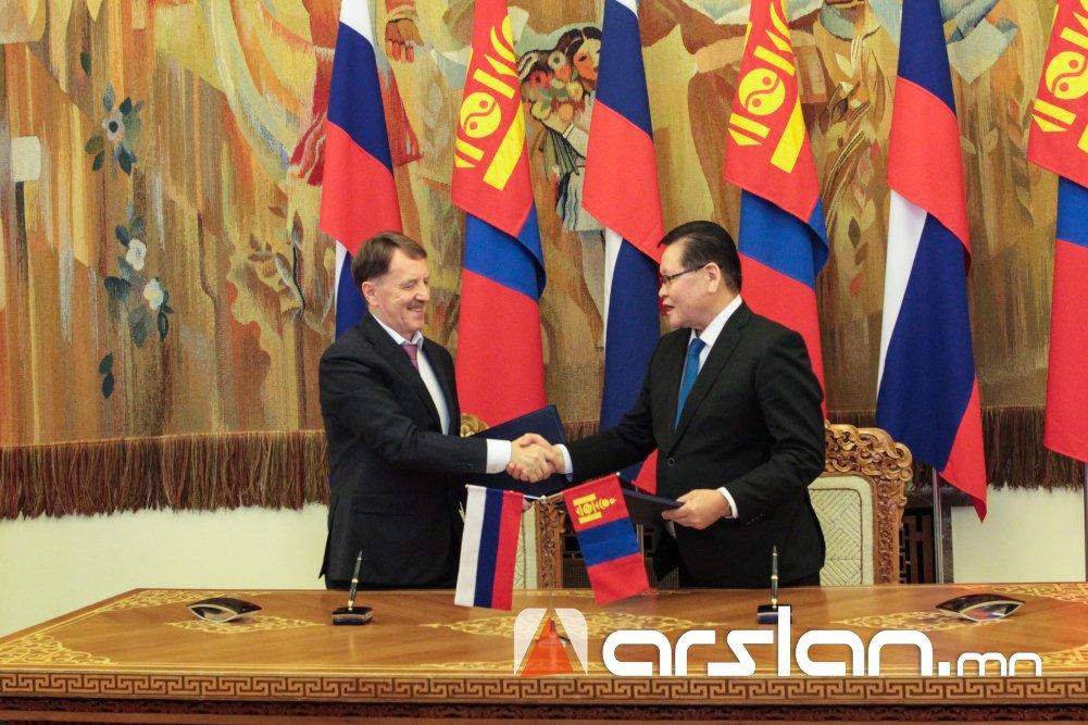Монгол Улс, ОХУ-ын Засгийн газар хоорондын комиссын 22 дугаар хуралдаан боллоо
