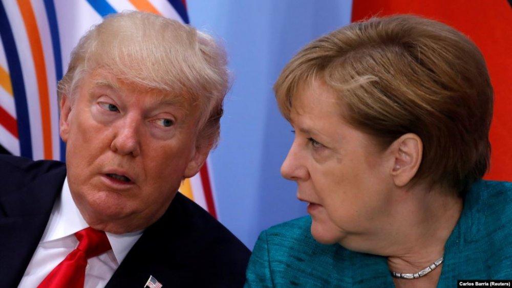 Д.Трамп Германд  хориг тавина гэж сүрдүүллээ