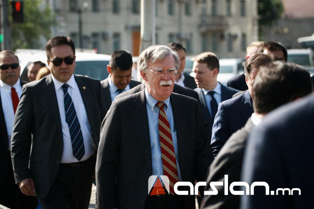 ФОТО: АНУ-ын Ерөнхийлөгчийн Аюулгүй байдлын зөвлөх Жон Болтон Монголд иржээ