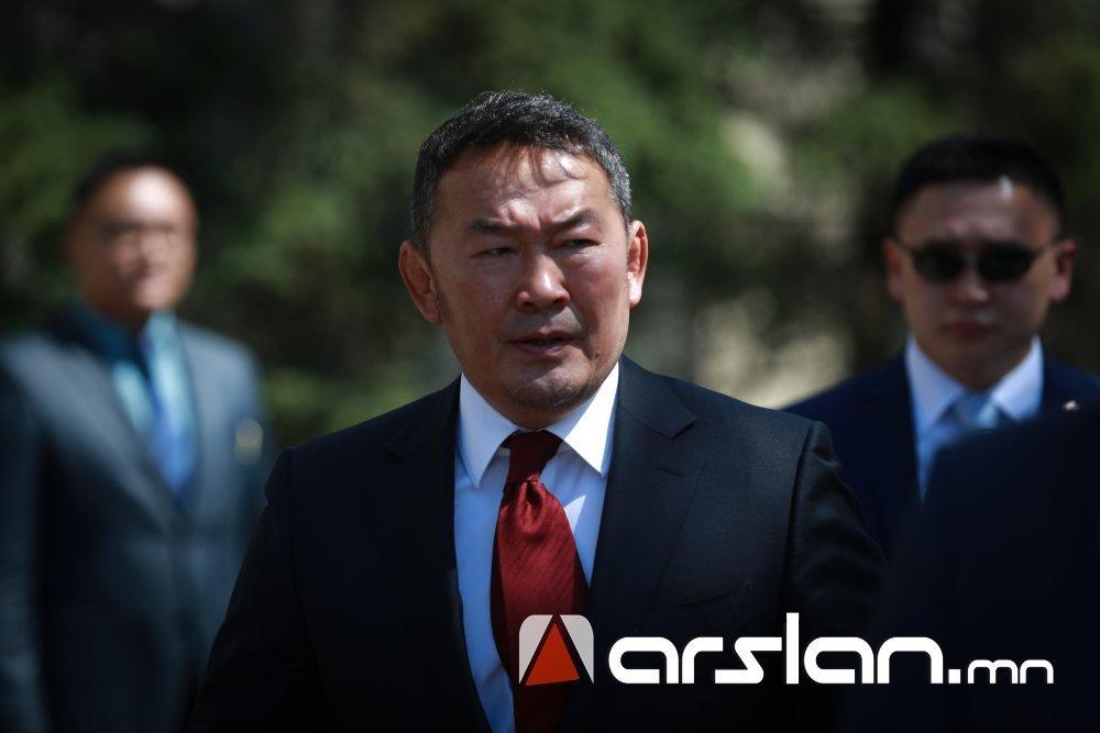Ерөнхийлөгч Х.Баттулга Киргиз улсад албан ёсны айлчлал хийхээр орноосоо мордлоо