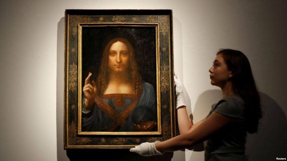 """Леонардо да Винчигийн """"алдагдсан"""" зураг олджээ"""