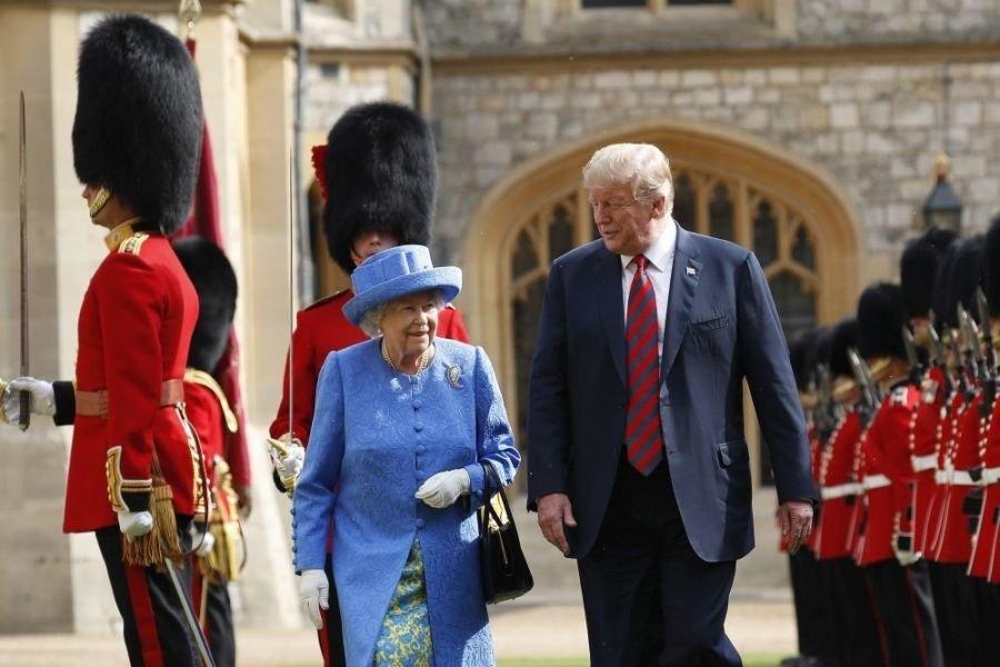 Дональд Трамп өнөөдөр Их Британид  айлчилна