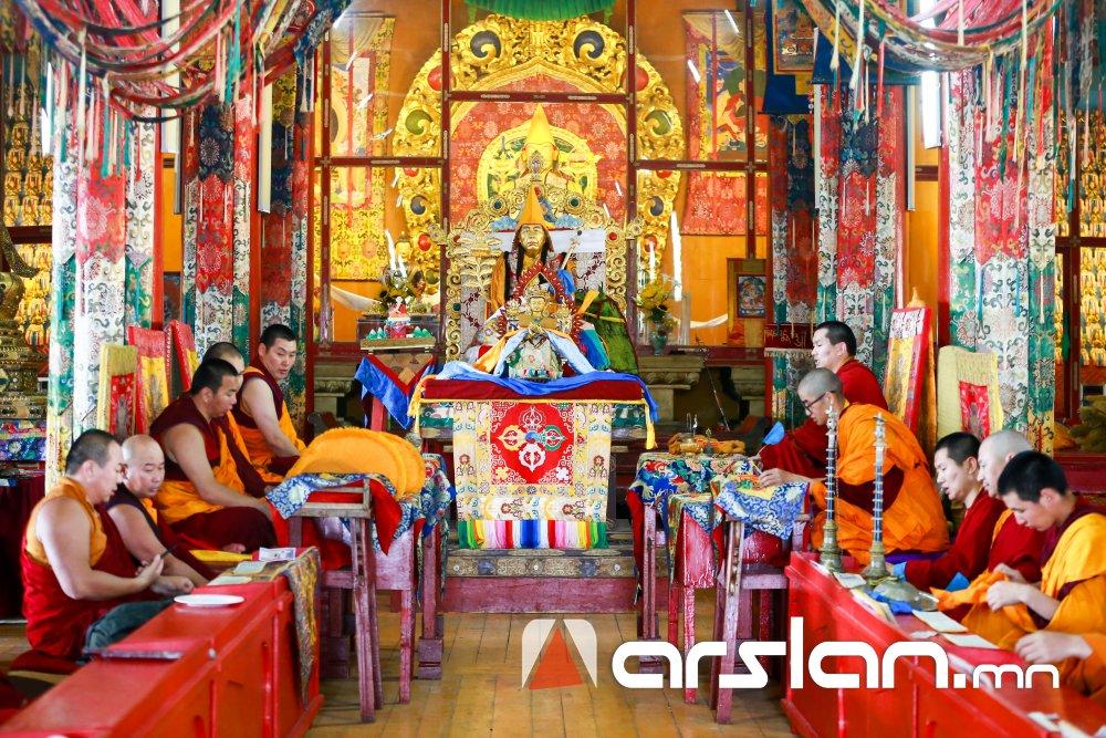 """ФОТО: Монголын түүх, соёлын хосгүй нандин дурсгал """"АМАРБАЯСГАЛАНТ ХИЙД"""""""