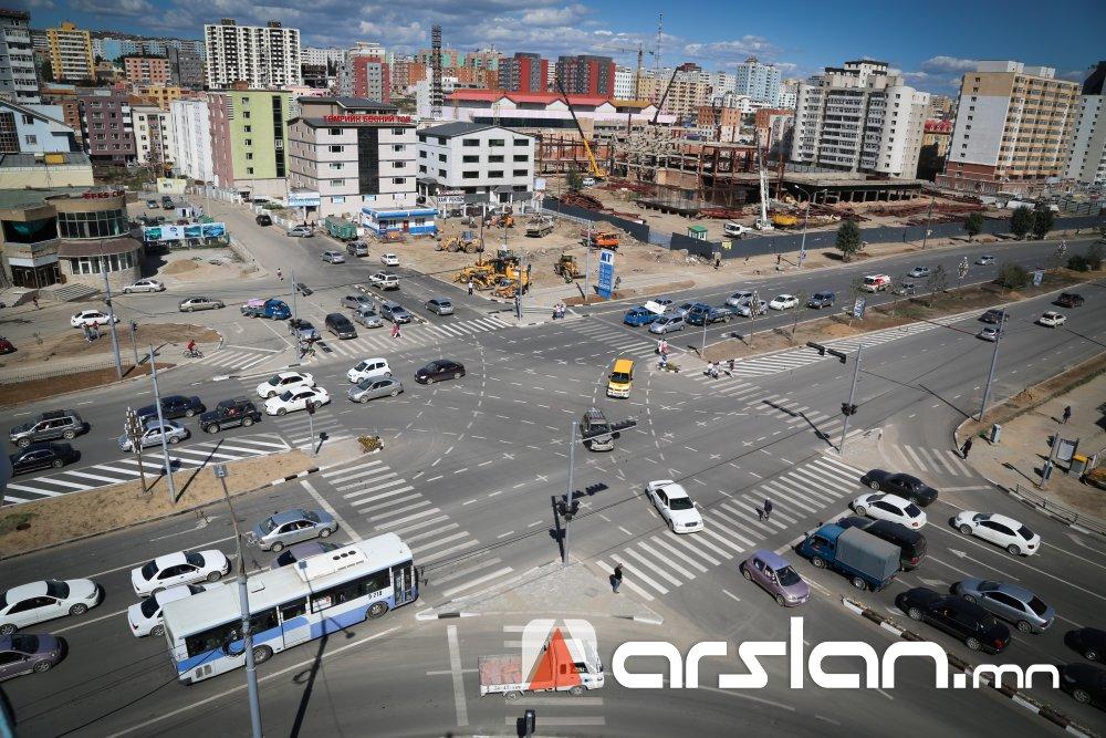Улаанбаатар хотын авто замын ГУРВАН бүсчлэлд үйлчлэх дүрэм ажлын цагаар мөрдөгдөнө