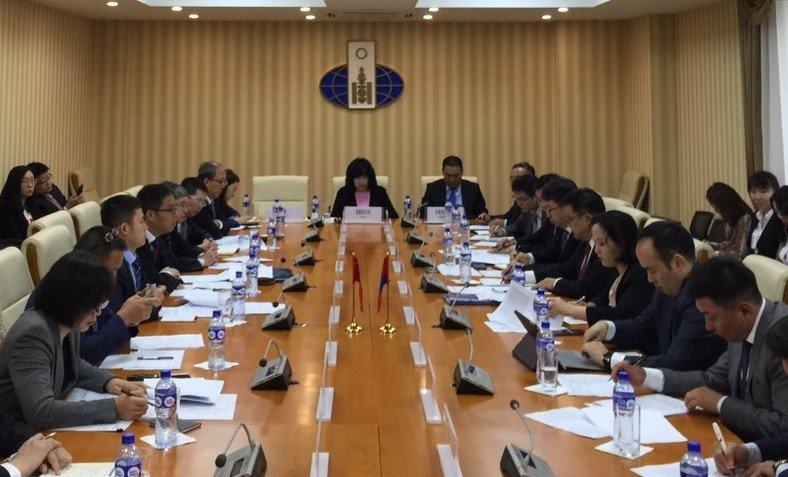 Монгол-Хятадын Засгийн газар хоорондын комиссын Ажлын хэсэг хуралдлаа