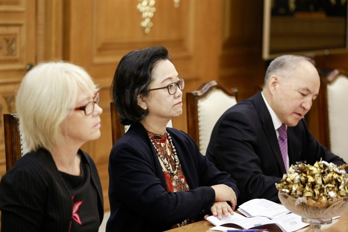 НҮБ-ын Ерөнхий нарийн бичгийн даргын орлогч, хатагтай А.Алисжабана манай улсад айлчилж байна
