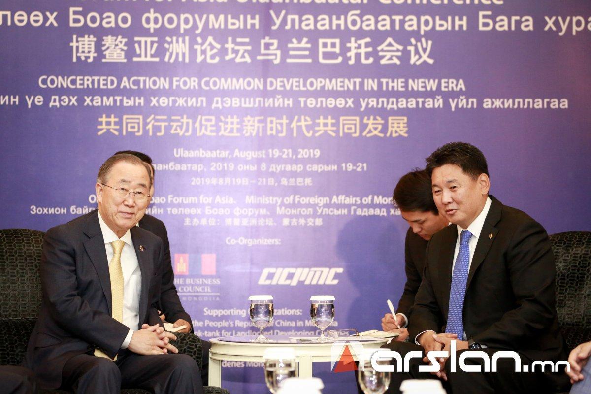 Монгол Улсын Засгийн газар уур амьсгалын өөрчлөлт, агаарын чанарын асуудлаарх хамтын ажиллагаанд дэмжлэг үзүүлэхийг хүсэв