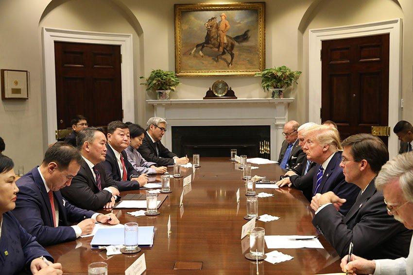 АНУ-ын стратегийн 17 дахь түнш нь Монгол болов