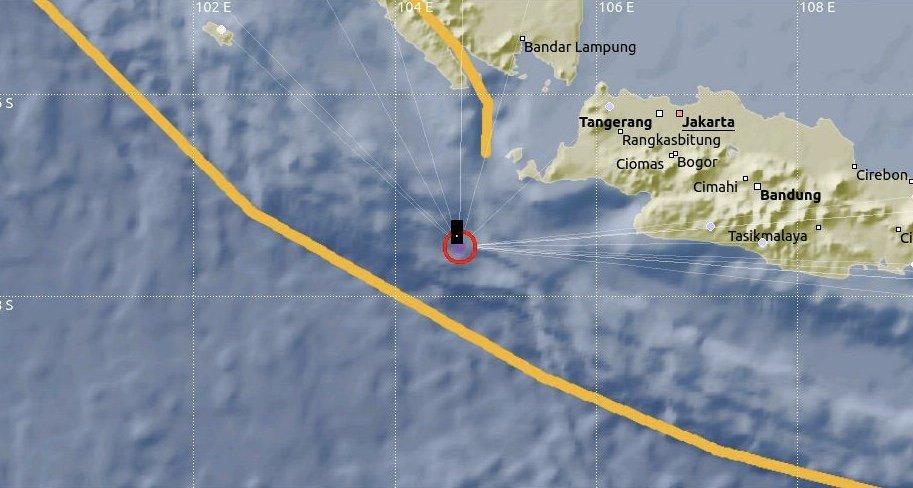 Индонезын баруун нутагт хүчтэй газар хөдлөлт болжээ
