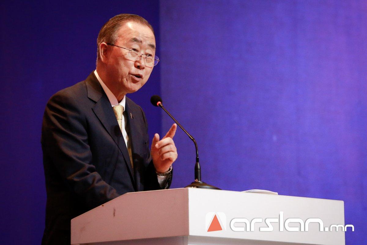 Бан Ги Мун: Монгол Улс эдийн засгийн боломжоо бүрэн ашиглая гэвэл ДЭД БҮТЦЭЭ шийдэх хэрэгтэй
